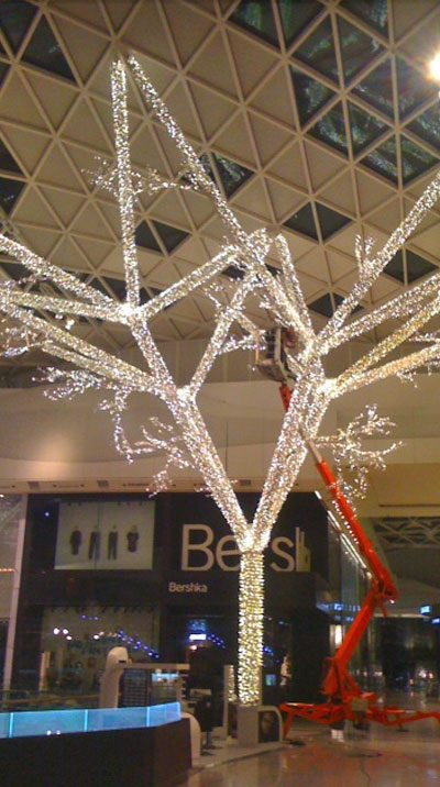 Shopping centre installations